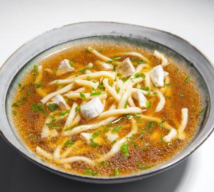 supa fusion ramen cu pui picanta