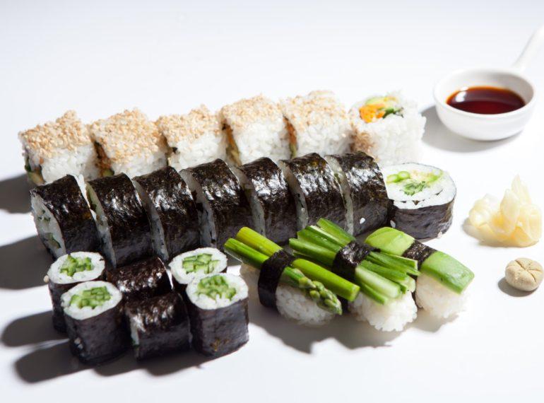 Sushi Box vegetarian